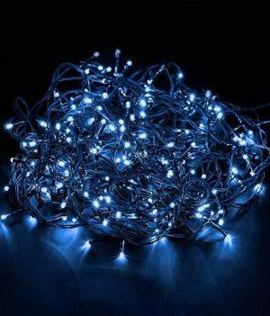 kerstboomverlichting blauw