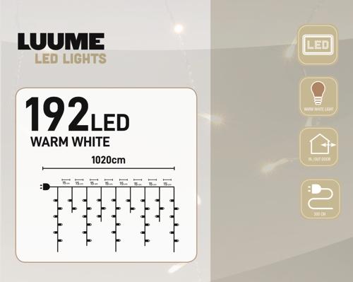 KerstXL 192 led ijspegel warm wit 04 1