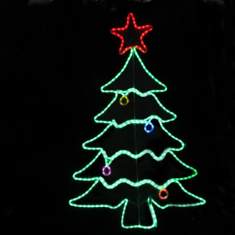 led kerstboom figuur multicolor waterdicht. Black Bedroom Furniture Sets. Home Design Ideas