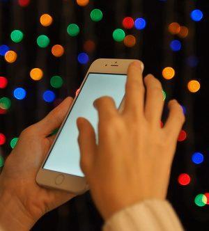 kerstverlichting bedienen met je smartphone