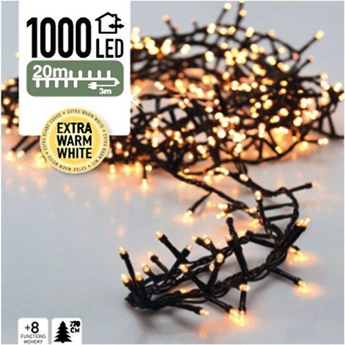 Cluster Kerstverlichting 1000 Led S Voor Bomen Tot 270cm