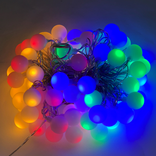 muti color partyverlichting