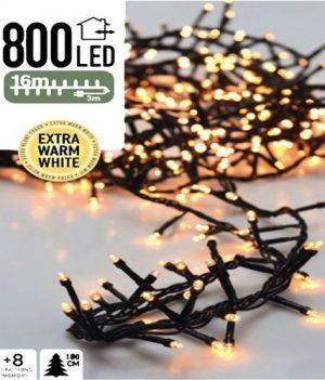cluster verlichting kerst 800led