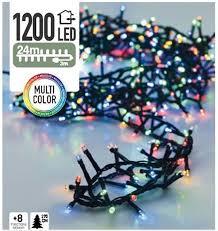 multi color kerstverlichting 24meter