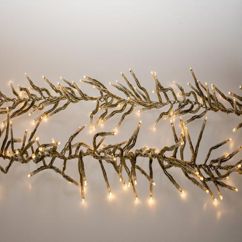 clusterverlichting kerst warm wit